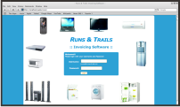 Runs and Trails is a registered Nigerian company, that deals with sales of electronics of all type and major brands. They are a noted reseller for brands like Haier Thermocool, Scanfrost, Ignis, Citizen, Binatone, TEC. We provided a new <strong>Logo Design, Web Design, Invoicing Application </strong>etc